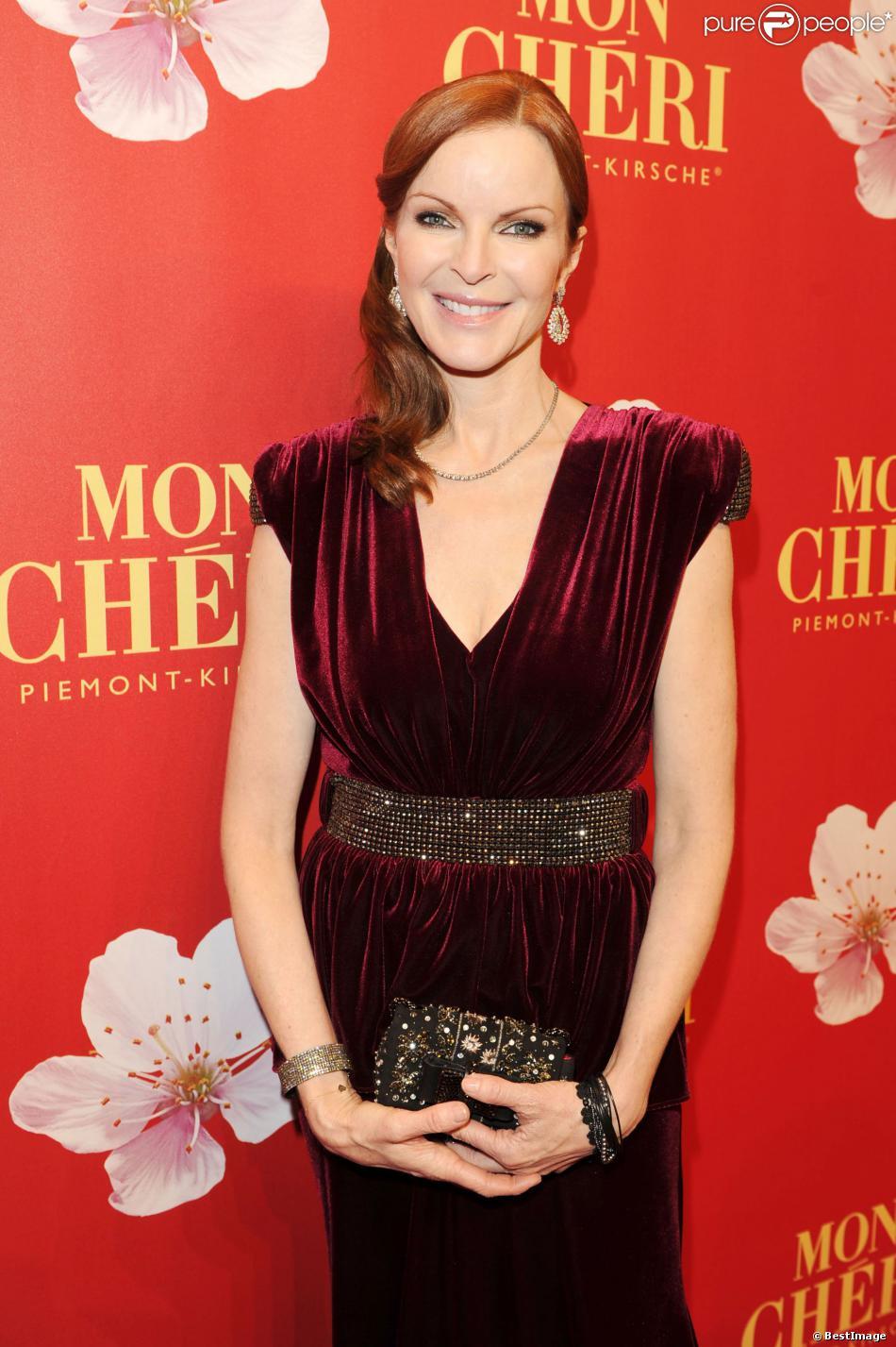 """Marcia Cross à la soirée de gala pour le """"Barbara Day"""", organisée par Mon Cheri (Ferrero Allemagne) à Munich, le 4 décembre 2013."""