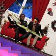 Anthony Kavanagh et Rachid Badouri dans Le 31 tout est permis, émission spéciale diffusée sur TF1 le 31 décembre 2013 à 20h50 et présentée par Arthur