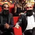 Franck Dubosc et Anthony Kavanagh dans Le 31 tout est permis, émission spéciale diffusée sur TF1 le 31 décembre 2013 à 20h50 et présentée par Arthur