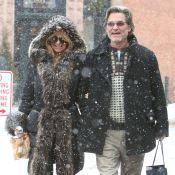Goldie Hawn et Kurt Russell : Amoureux, contre vents et tempêtes de neige