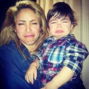 Shakira : Une maman taquine avec son petit Milan, bougon à Noël !
