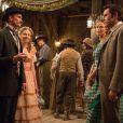Charlize Theron, Neil Patrick Harris, Seth MacFarlane et Amanda Seyfried dans le film A Million Ways To Die In The West