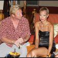 Boris Becker et sa fiance Alexandra (Sandy) Meyer-Woelden a l'anniversaire du milliardaire Fawaz Gruosi a porto Cervo