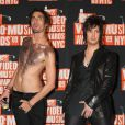 Tyson Ritter et Nick Wheeler des All-American Rejects lors des MTV Video Music Awards le 13 septembre 2009 à New York