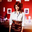 Photo promo de l'album Rouge ardent, d'Axelle Red.