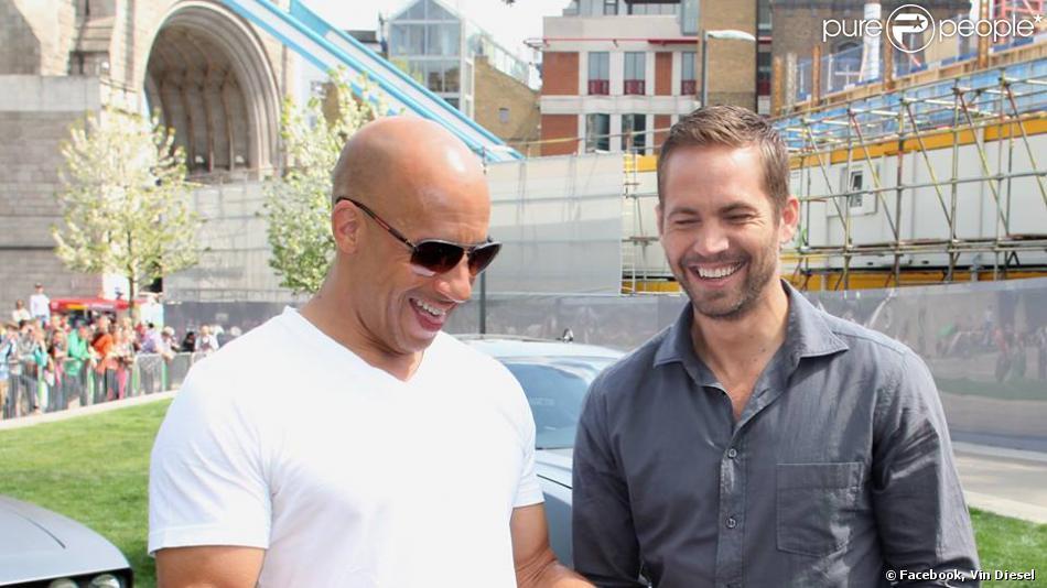 Vin Diesel pleure la mort de son ami Paul Walker