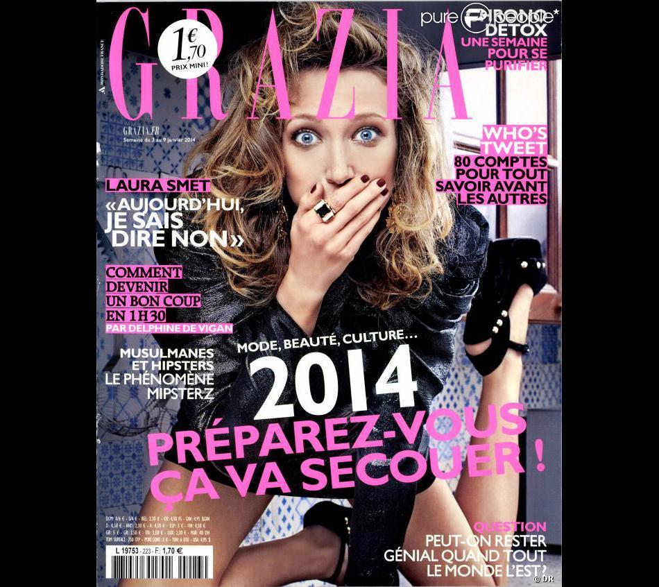 Couverture de Grazia, avec Laura Smet.