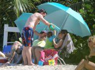 Robert Downey Jr. en vacances : Ventre bedonnant pour un papa poule joueur