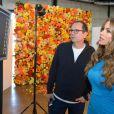 Sofia Vergara dans les coulisses de son shooting pour la campagne Kmart.   Los Angeles le 15 décembre 2013