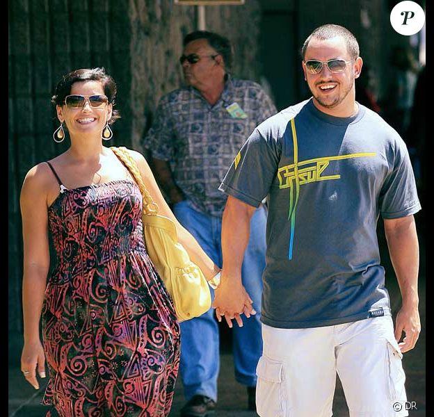 Nelly Furtado et son mari Demacio Castellon