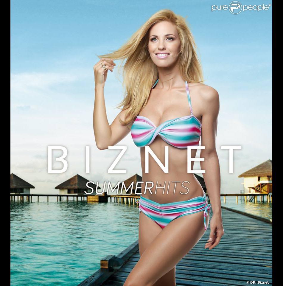 Rocío Guirao Díaz pose pour la nouvelle collection de maillots de bain de la marque Biznet.