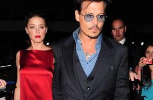 Johnny Depp et Amber Heard fiancés ? Les amoureux ne se cachent plus...
