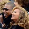 Jay-Z et Beyonce Knowlesà Washington, le 21 janvier 2013