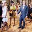 Zara Phillips et Mike Tindall à Westminster le 4 juin 2013 pour le soixantenaire du couronnement d'Elizabeth II. Le couple a eu le 17 janvier 2014 son premier enfant, une petite fille, Mia Grace Tindall.