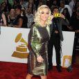 Rita Oraarrive au Staples Center pour la 56e édition des Grammy Awards. Los Angeles, le 26 janvier 2014.