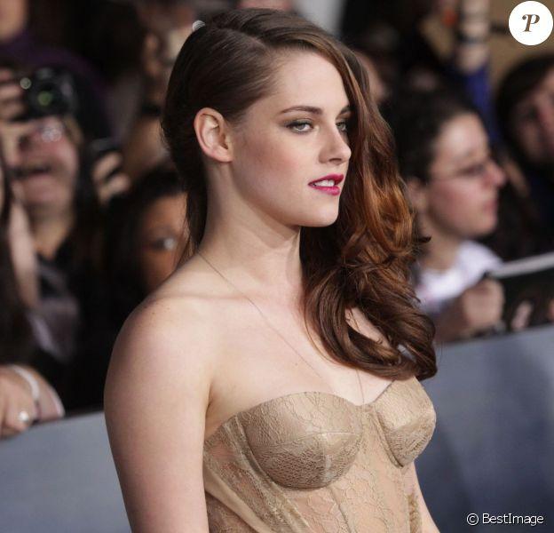 Kristen Stewart à Los Angeles, le 12 novembre 2012.
