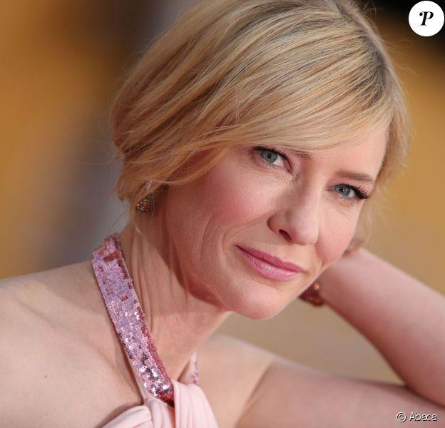 Cate Blanchett lors des Screen Actors Guild Awards à Los Angeles le 18 janvier 2014