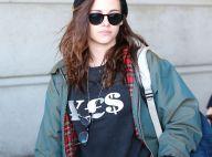 Kristen Stewart à Paris : Boyish et débraillée, plus garçon manqué que jamais !
