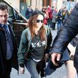 Kristen Stewart à Paris, le 3 février 2014.