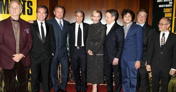 Le casting la premi re du film the monuments men au for Theatre jean dujardin