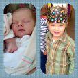 Sarah Jane Morris a posté cette photo de son fils Emmett, sur Twitter, le 25 janvier 2014.