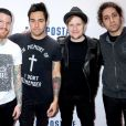 Andy Hurley, Pete Wentz, Patrick Stump et Joe Trohman à New York le 13 décembre 2013