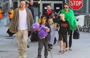 Angelina Jolie, Brad et leurs six enfants : Après l'Australie, retour au bercail