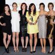 "Audrina Patridge, Rumer Willis, Leah Pipes, Briana Evigan, Jamie Chung, Margo Harshman (casting de ""Sorority Row"") à Las Vegas, le 2 avril 2009."