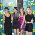 Rumer Willis, Briana Evigan, Audrina Patridge, Leah Pipes à Universal City, le 9 août 2009.
