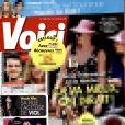 Voici , édition du 7 février 2014. En couverture, les vacances de Valérie Trierweiler à l'Ile Maurice.