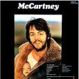 Mary McCartney sur la pochette du premier album solo de son pere