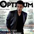 Couverture du Magazine de l'Optimum avec Vincent Cassel.