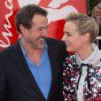 Sebastian Koch et Diane Kruger lors de la première de The Galapagos Affair: Satan Came to Eden au 64e Festival International du Film de Berlin le 10 février 2014.