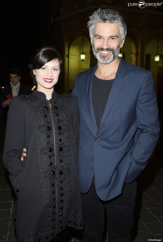 Fran ois vincentelli et sa compagne alice dufour la - Francois busnel sa femme ...