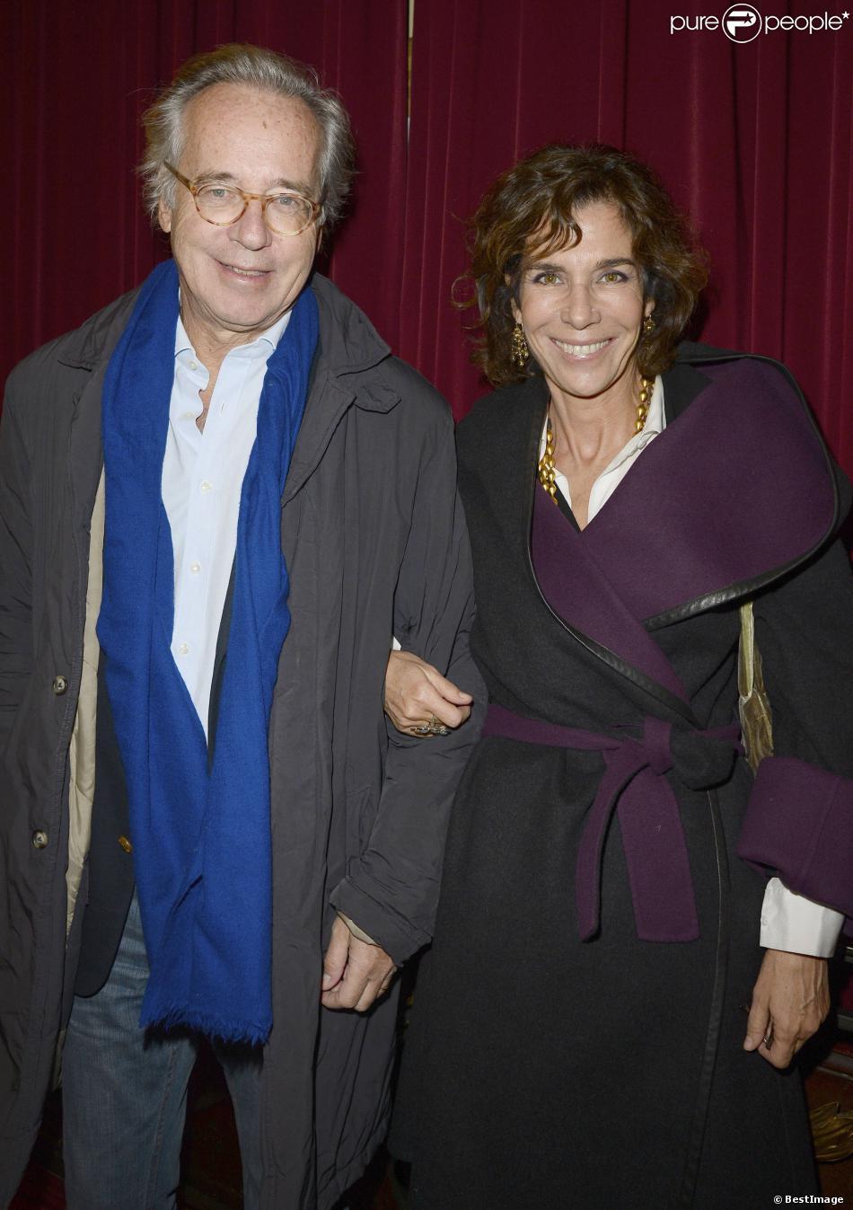 Olivier orban et sa femme christine orban la g n rale de la pi ce la porte c t au th tre - Piece de theatre la porte a cote ...