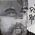 Un hommage mural à l'acteur décédé Philip Seymour Hoffman dans l'East Village, New York, le 11 février 2014.