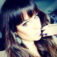 Lea Michele prend la pose sur Twitter, le 10 février 2014.