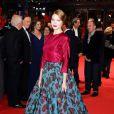 Léa Seydoux en Prada à la première du film La Belle et la Bête lors du 64e Festival International du Film de Berlin, le 14 février 2014.