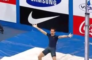 Renaud Lavillenie: Déjà blessé et forfait, après son exploit au saut à la perche