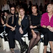 Yasmin Le Bon et Amber Le Bon : Duo fashion avec Peaches Geldof à Londres