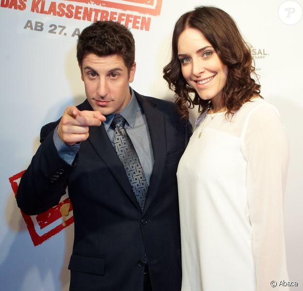 Jason Biggs et Jenny Mollen à Vienne le 27 mars 2012.