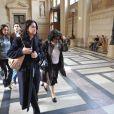 Ruth Halimi, la mère d'Ilan, arrivant avec son avocate au tribunal le 29 avril 2009 à Paris