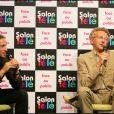 Nelson Monfort et Philippe Candeloro à Paris en juin 2007.