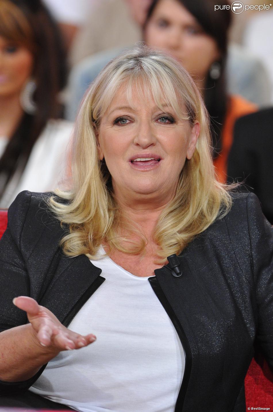 Charlotte De Turckheim - Enregistrement de l'émission 'Vivement Dimanche' à Paris le 9 octobre 2012.