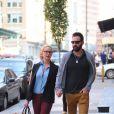 Katherine Heigl et son mari Josh Kelley à New York le 4 octobre 2013.