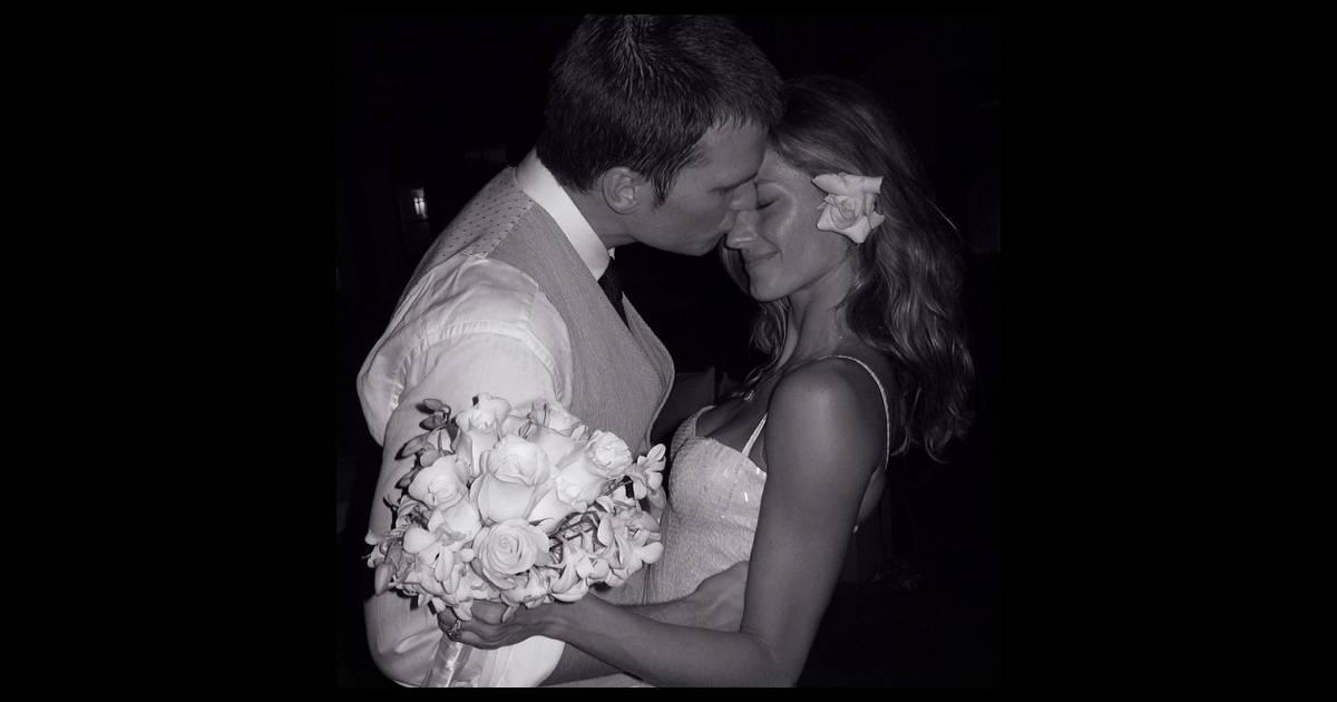 gisele b ndchen d claration d 39 amour et photo de mariage elle est in love. Black Bedroom Furniture Sets. Home Design Ideas