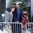 David Bar Katz arrivant aux funérailles de Philip Seymour Hoffman à New York le 7 février 2014