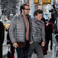 David Bar Katz lors des funérailles de Philip Seymour Hoffman à New York le 6 février 2014