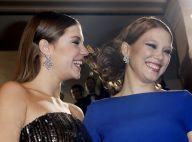 Léa Seydoux et Adèle Exarchopoulos, solidaires et glamour au défilé des César