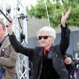 """Alain Resnais lors du photocall du film """"Vous n'avez encore rien vu"""" lors du 35e Festival de Cannes, le 21 mai 2012"""